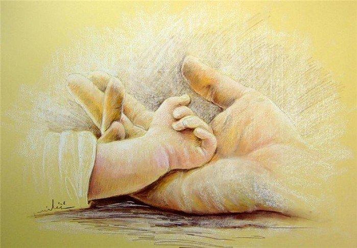 Մոր ձեռքերը
